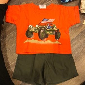 Baby boy large 12 M outfit